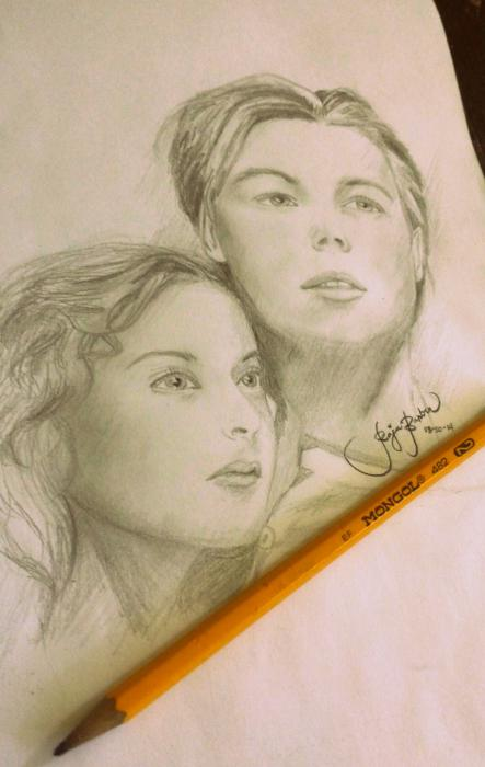 Kate Winslet, Leonardo DiCaprio by RajaBarber